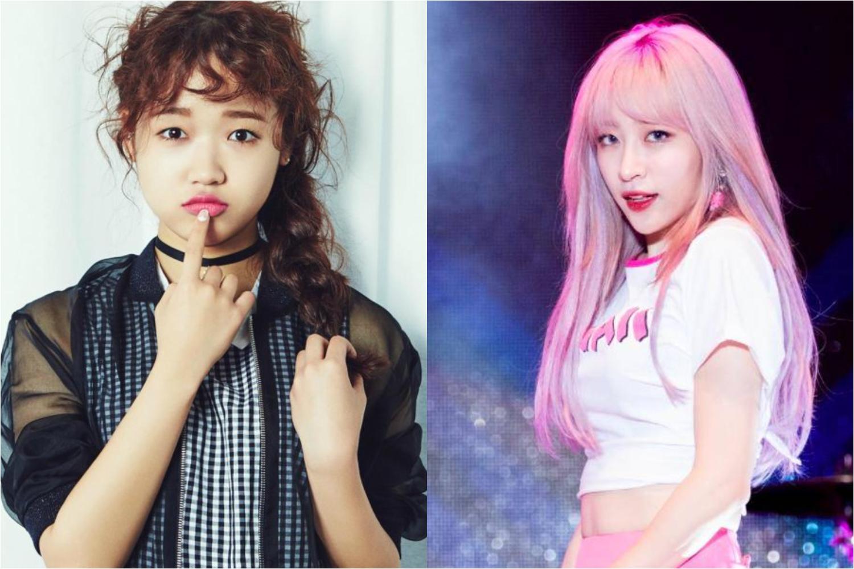 هاني عضوة EXID وتشوي يو جونغ عضوة Weki Meki هن التاليات في